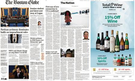 The Boston Globe – January 22, 2020