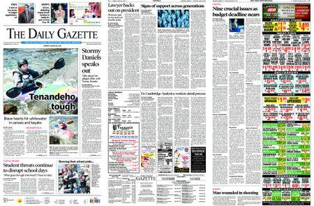 The Daily Gazette – March 26, 2018