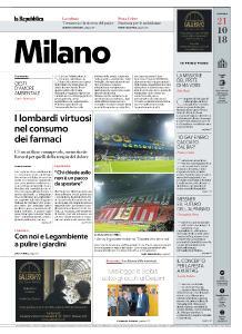 la Repubblica Milano - 21 Ottobre 2018