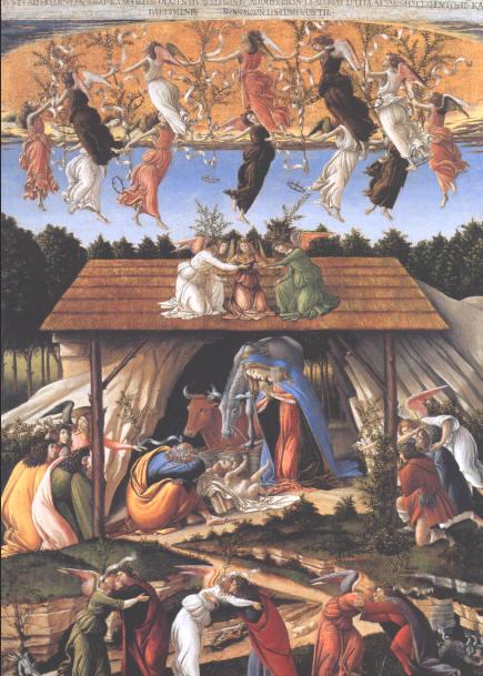 Сандро Ботичелли (58 картин)   Sandro Botticelli (58 pictures)