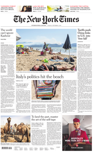 International New York Times - 03 September 2019