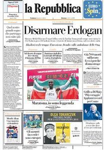 la Repubblica - 13 Ottobre 2019