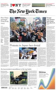 International New York Times - 3 July 2020