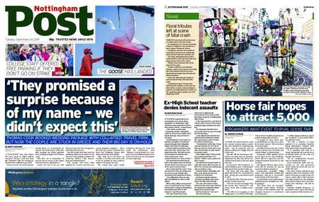 Nottingham Post – September 24, 2019