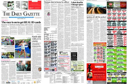 The Daily Gazette – October 14, 2019