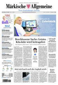 Neue Oranienburger Zeitung - 31. Mai 2018