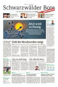 Schwarzwälder Bote Blumberg - 21. Januar 2019