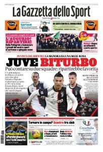 La Gazzetta dello Sport – 03 aprile 2020