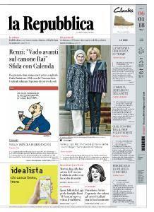 la Repubblica - 6 Gennaio 2018