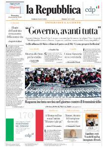la Repubblica - 24 Novembre 2019