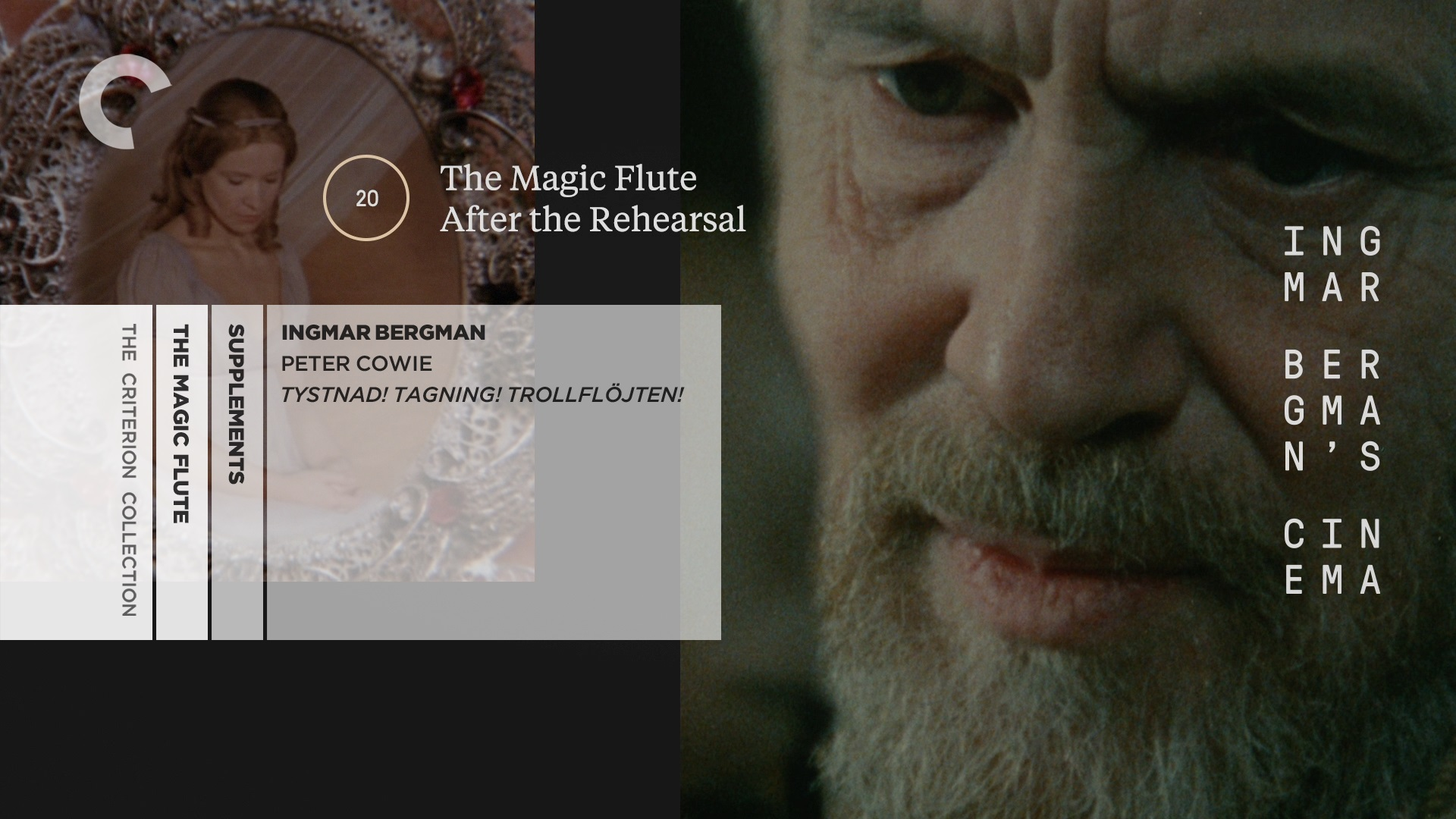The Magic Flute / Trollflöjten (1975) + After the Rehearsal / Efter repetitionen (1984) [Criterion Collection]