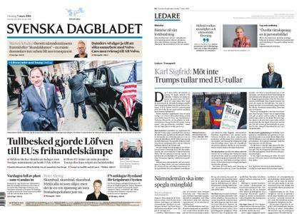 Svenska Dagbladet – 07 mars 2018