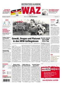 WAZ Westdeutsche Allgemeine Zeitung Oberhausen-Sterkrade - 09. August 2018