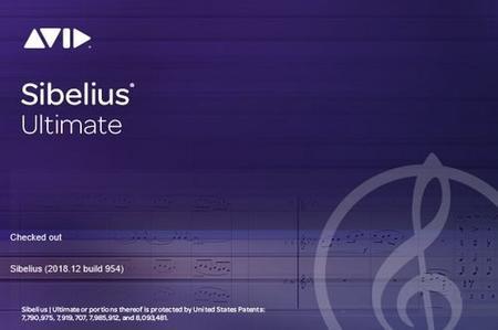 Avid Sibelius Ultimate 2018.12 Build 954 Multilingual