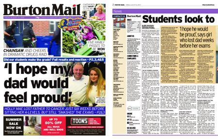 Burton Mail – August 16, 2019