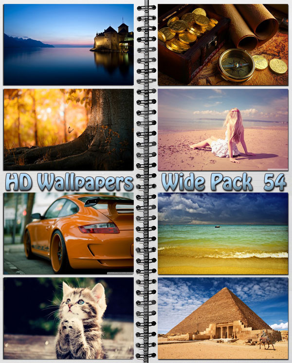 HD Wallpapers Wide Pack #54