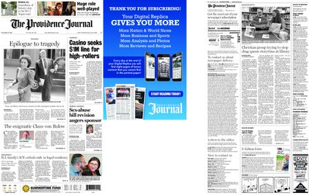 The Providence Journal – May 31, 2019