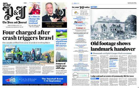 The Press and Journal Moray – September 10, 2018
