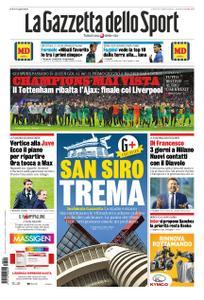 La Gazzetta dello Sport Roma – 09 maggio 2019
