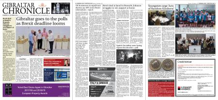 Gibraltar Chronicle – 17 October 2019