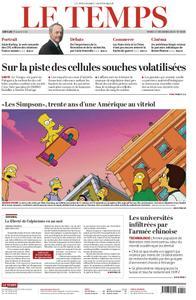 Le Temps - 17 décembre 2019