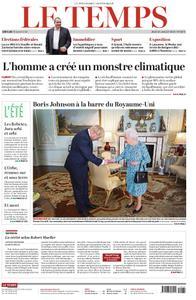 Le Temps - 25 juillet 2019