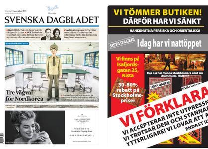 Svenska Dagbladet – 18 november 2018