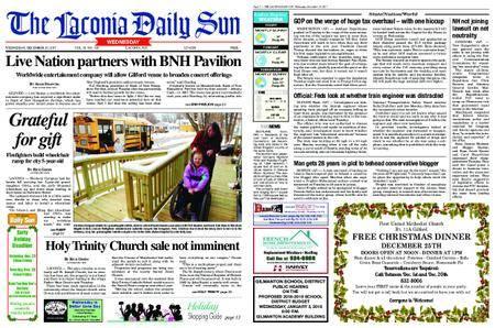 The Laconia Daily Sun – December 20, 2017