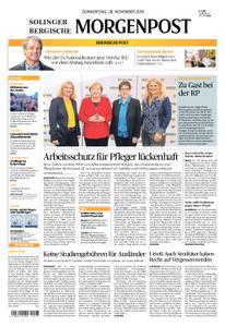 Solinger Morgenpost – 28. November 2019