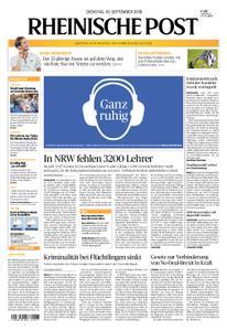 Rheinische Post – 10. September 2019