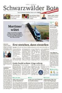 Schwarzwälder Bote Hechingen - 01. Oktober 2019
