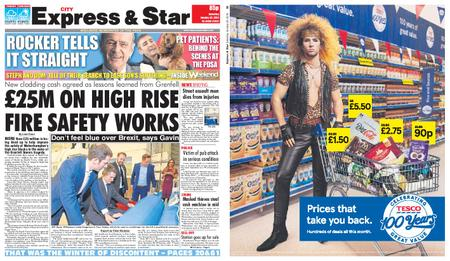 Express and Star City Edition – January 26, 2019