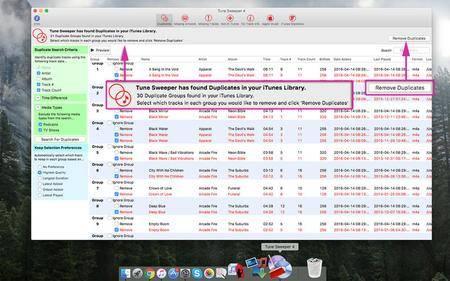 Tune Sweeper 4.13 Mac OS X