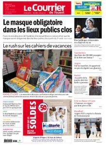 Le Courrier de l'Ouest Angers – 15 juillet 2020