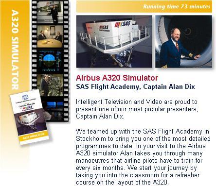ITVV - SAS Flight Academy A320 Simulator - Flight Video