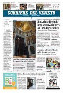 Corriere del Veneto Vicenza e Bassano - 30 Gennaio 2018