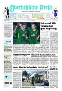 Oberhessische Presse Marburg/Ostkreis - 13. März 2018