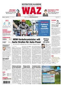 WAZ Westdeutsche Allgemeine Zeitung Oberhausen-Sterkrade - 03. April 2019