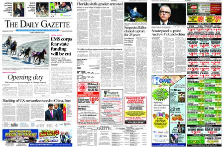 The Daily Gazette – February 18, 2019