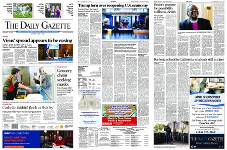 The Daily Gazette – April 11, 2020