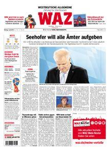 WAZ Westdeutsche Allgemeine Zeitung Oberhausen-Sterkrade - 02. Juli 2018