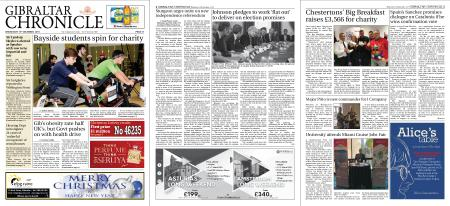 Gibraltar Chronicle – 18 December 2019