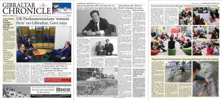 Gibraltar Chronicle – 28 January 2019