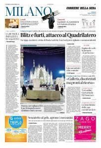 Corriere della Sera Milano - 22 Dicembre 2017