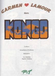 Carmen Lamour - Kongo