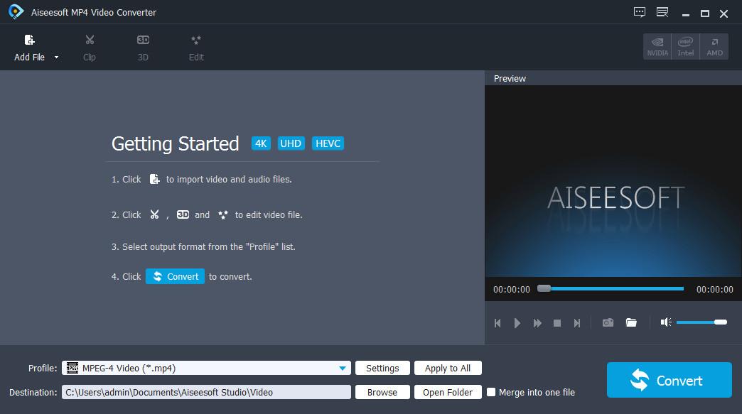 Aiseesoft MP4 Video Converter 9.2.22 Multilingual + Portable