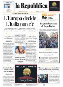 la Repubblica – 08 giugno 2019