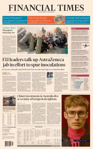 Financial Times Europe - March 1, 2021