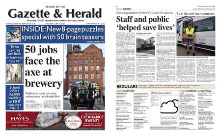 Gazette & Herald – June 18, 2020