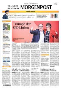 Solinger Morgenpost – 02. Dezember 2019